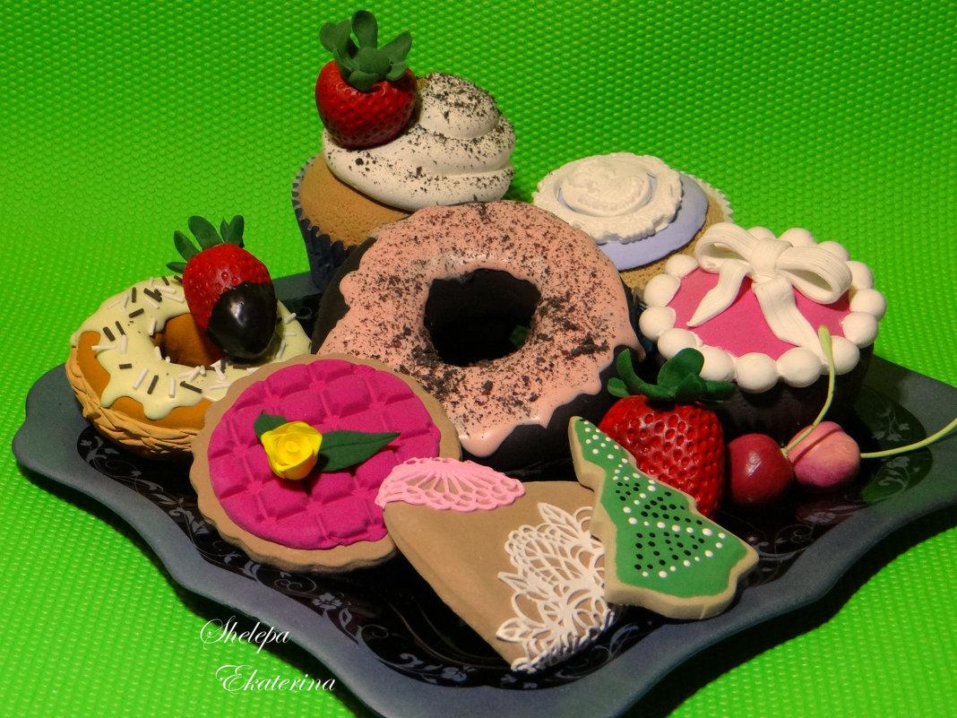 сладости из полимерной deco глины - Екатерина