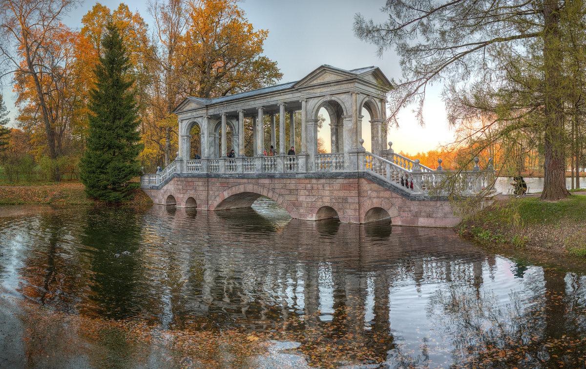 Мраморный мостик, царское село - Александр Кислицын