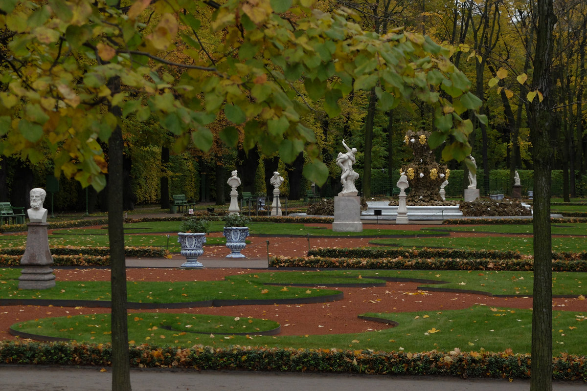 "Про осень и ""Летний сад"" - tipchik"