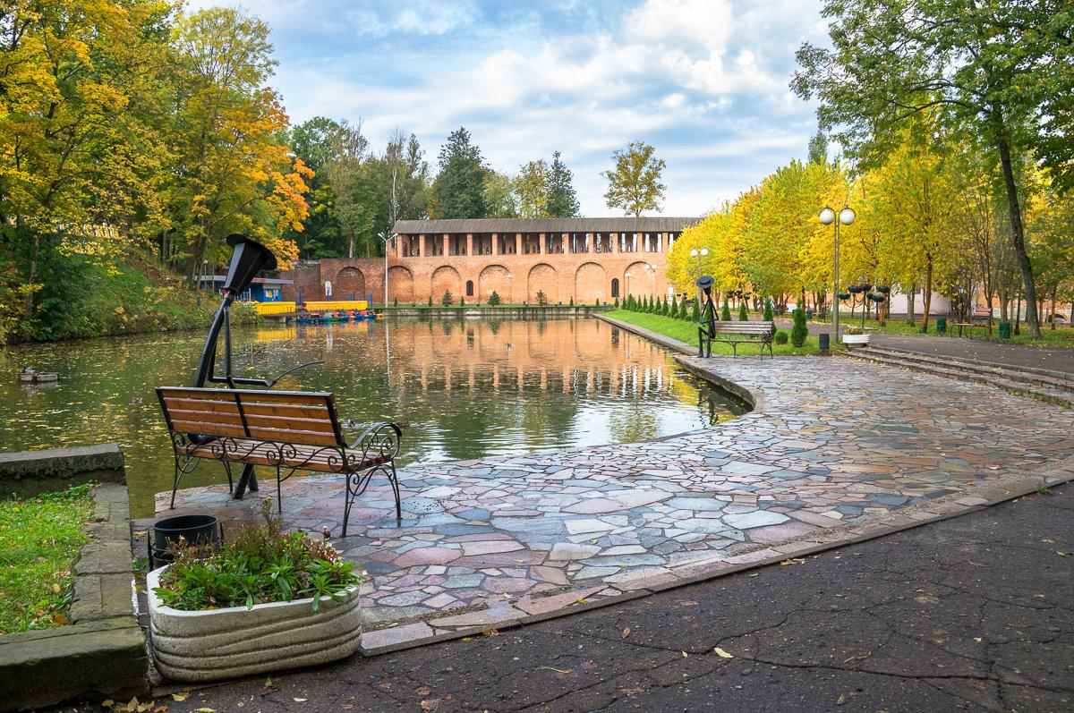Осень в городском парке - Олег Козлов