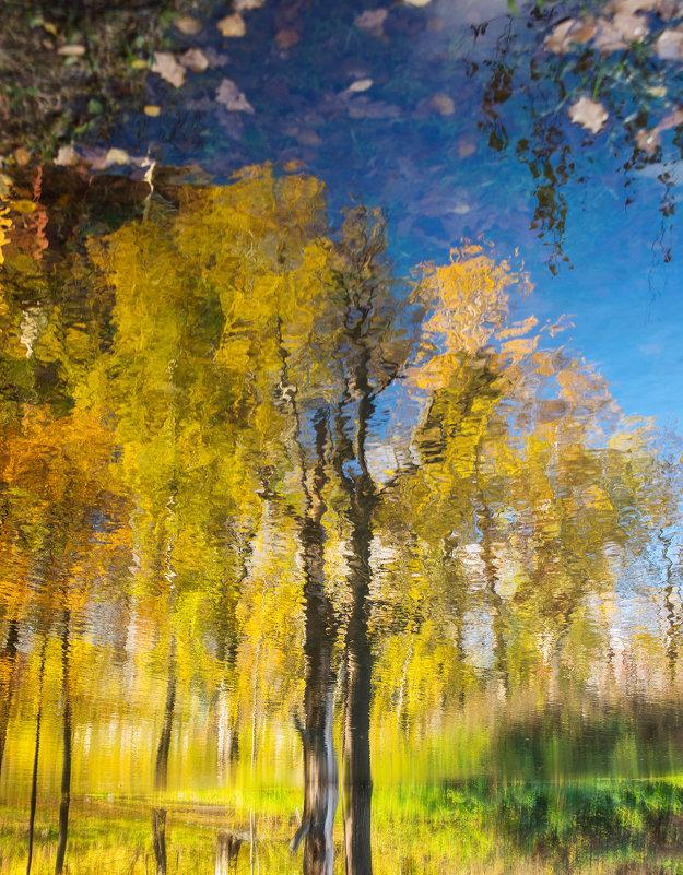 осень в стиле импрессионистов - Татьяна