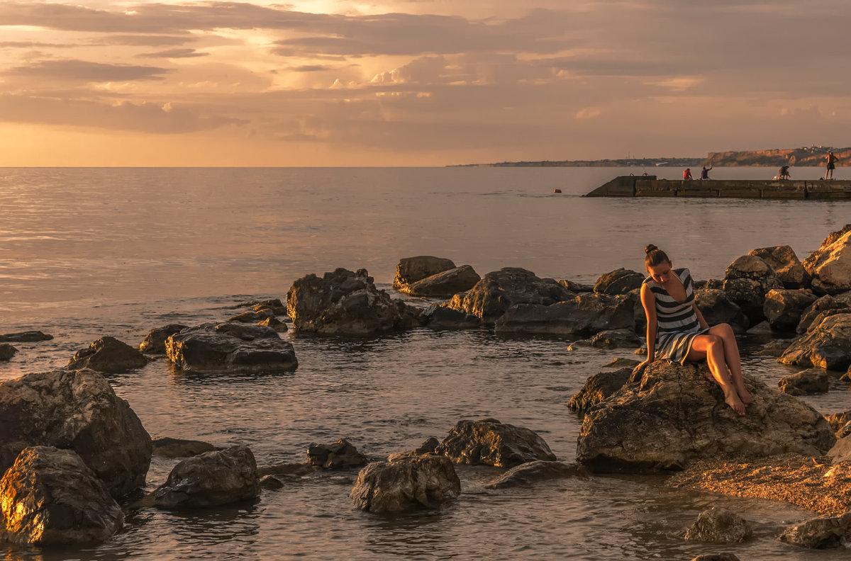 Вечерком на море - Виктор Мороз