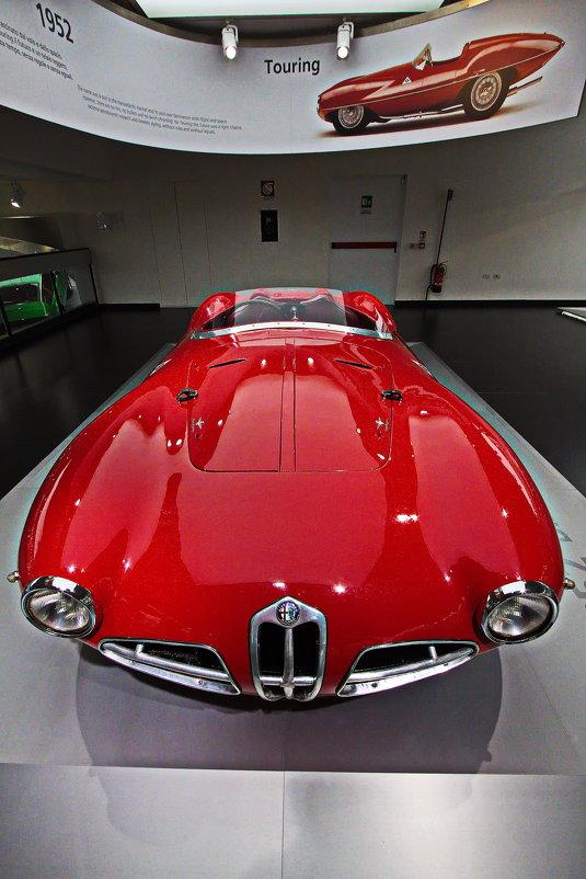 """""""Летающая Тарелка"""" Alfa Romeo Disco Volante - M Marikfoto"""