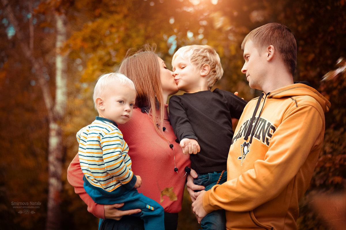 Семейная фотосессия - Фотохудожник Наталья Смирнова