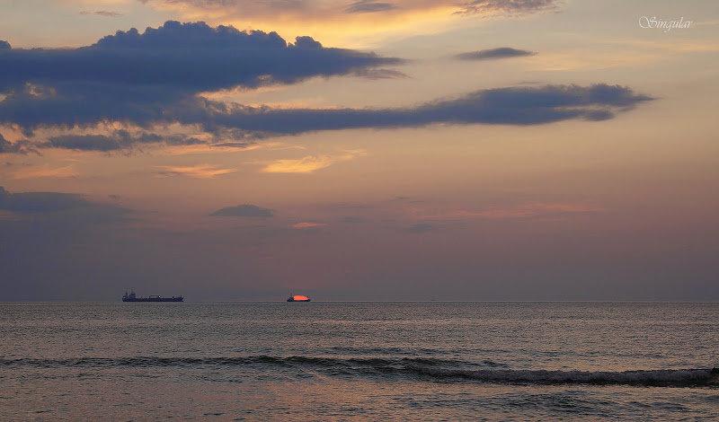Baltic Spit. Sunset. - Tatiana Golubinskaia