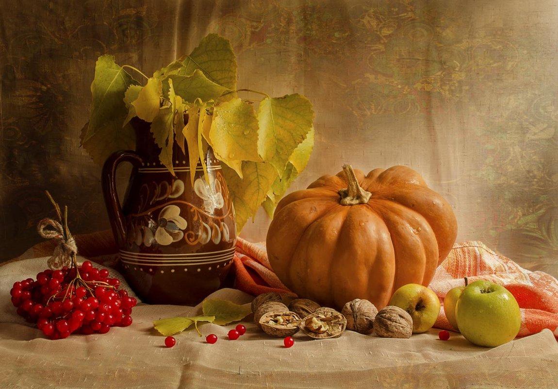 Осень на столе. - Елена Данько