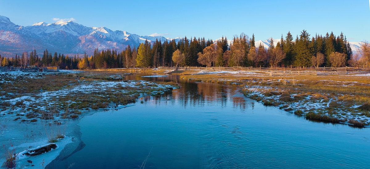 Осень в долине Хойто-Гол - Анатолий Иргл