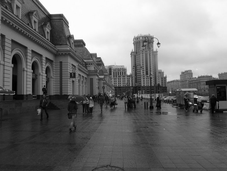 Москва,Павелецкий вокзал - tgtyjdrf