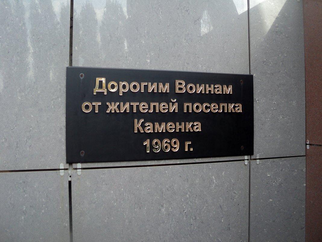Каменка Каменский район Воронежской области - Ольга Кривых
