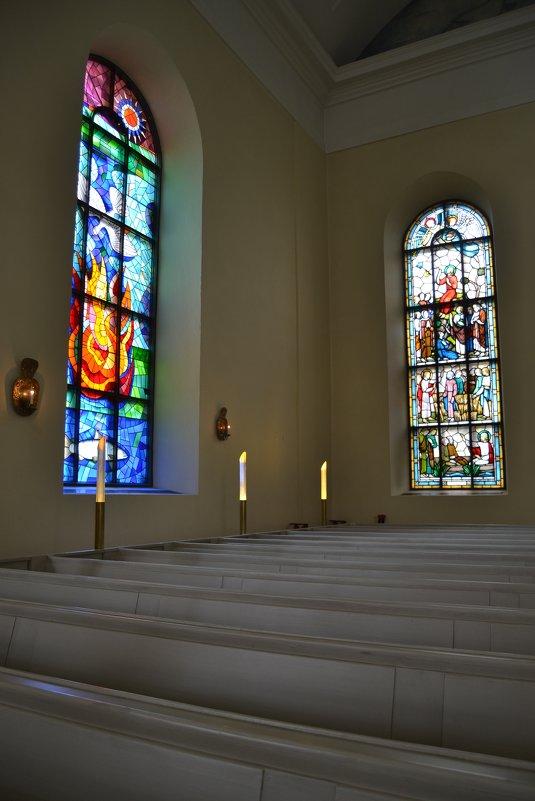В Кафедральном Соборе Оулу - Ольга