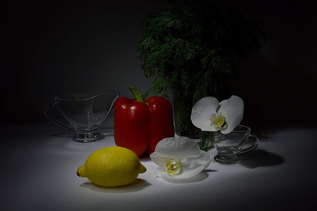 Желтое и  красное - Наталия Лыкова