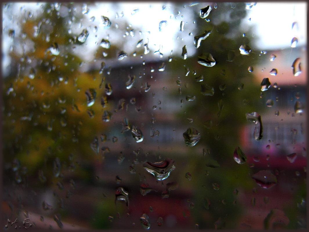 Осень плачет дождем в жилетку... - Людмила Богданова (Скачко)