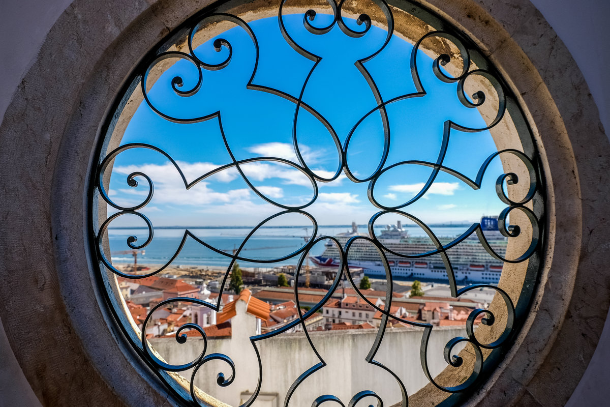 Window view - Alena Kramarenko