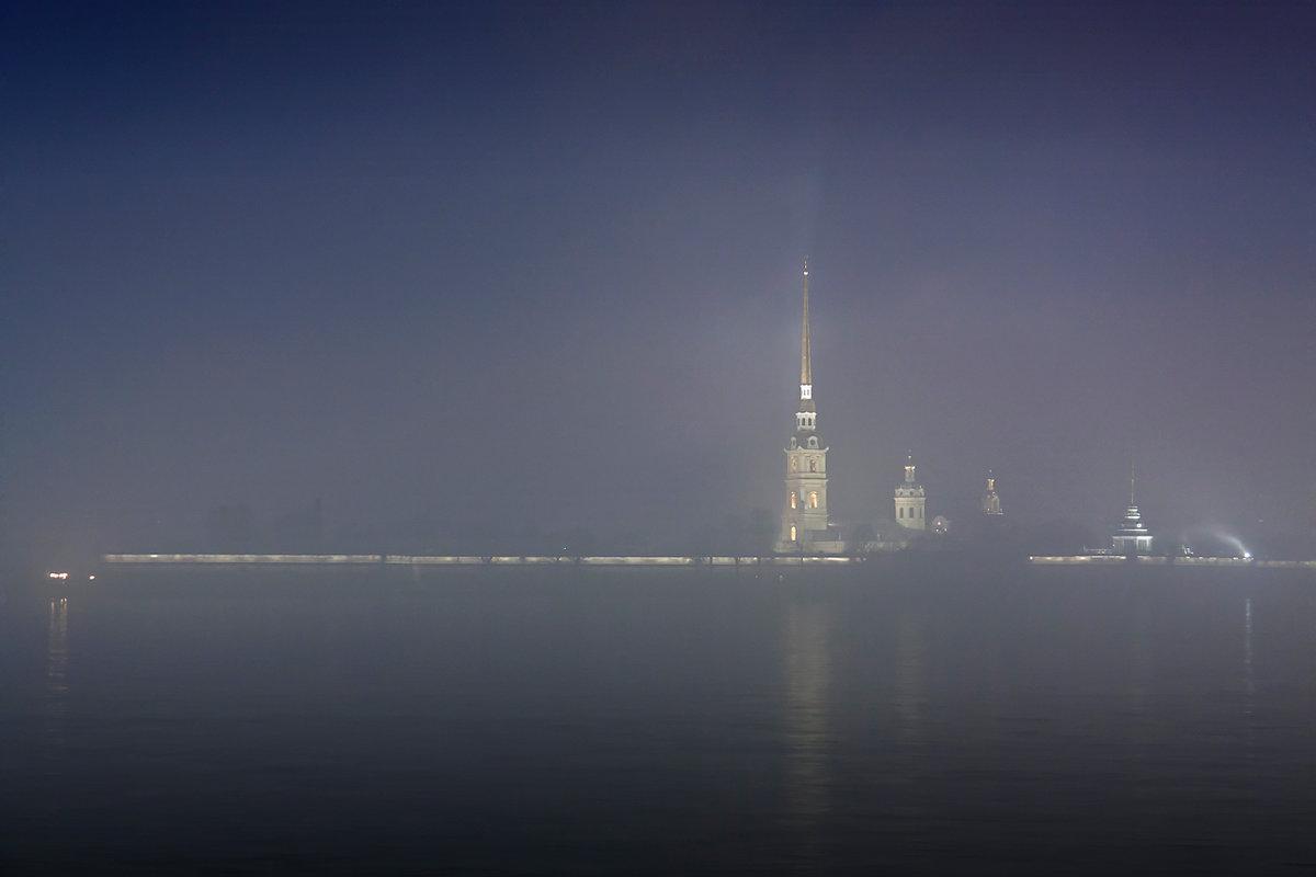 Петропавловка в тумане - Владимир Миронов