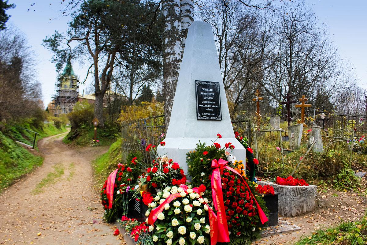 похоронены ленинградские дети, погибшие на станции Тихвин осенью 1941 года - Сергей Кочнев