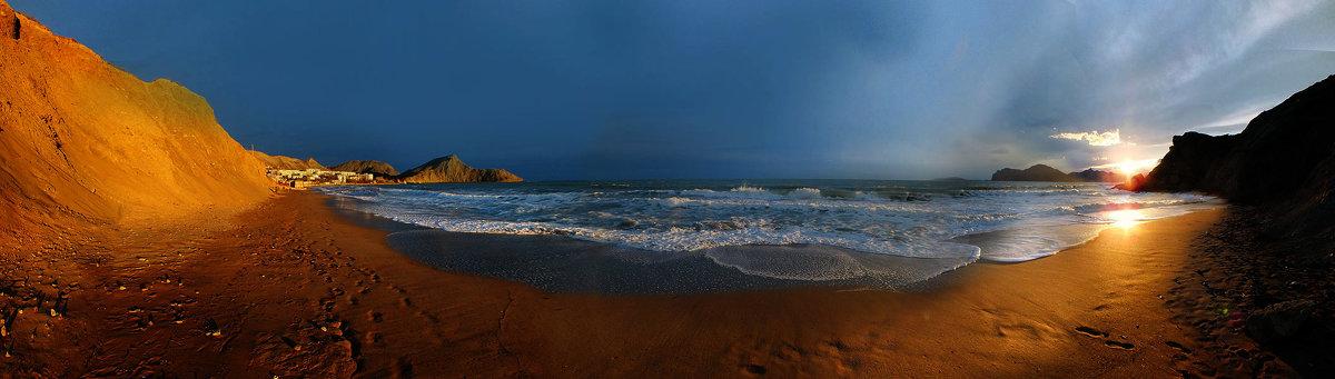 весенним золотом покрыты берега - viton