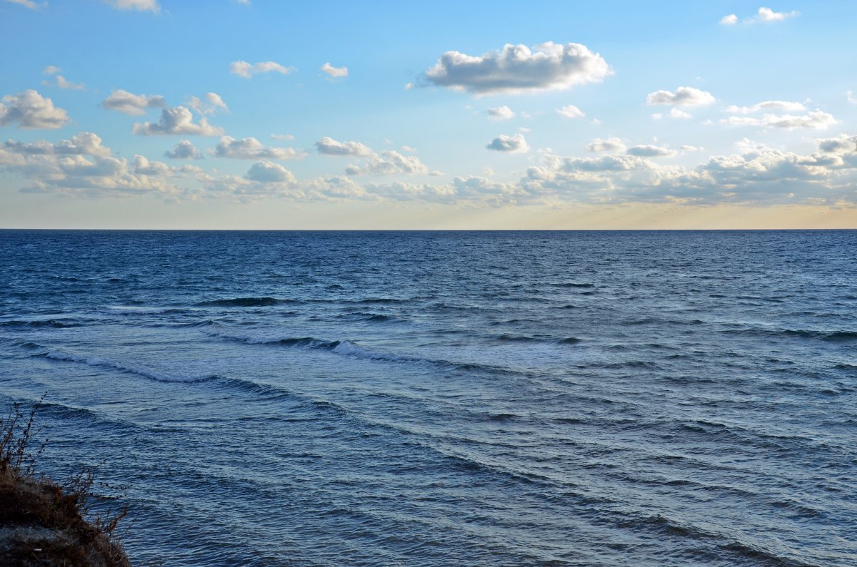 Вид моря производит всегда глубокое впечатление - Наталья Мельникова