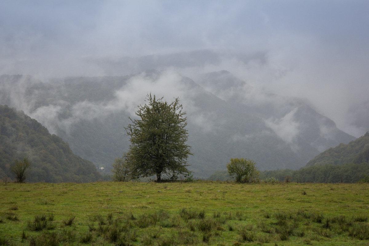 В горах Кавказа - Борис Коктышев