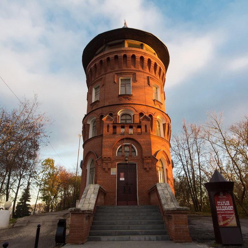 Водонапорная башня. Старый Владимир - Dimirtyi