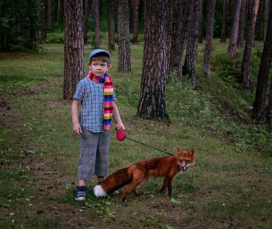 Суровый сибирский мужичок - Нина