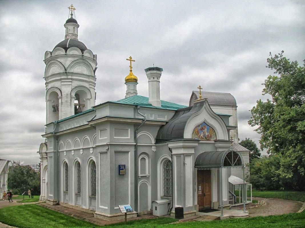 Церковь Георгия Победоносца c колокольней и трапезной. - Larisa