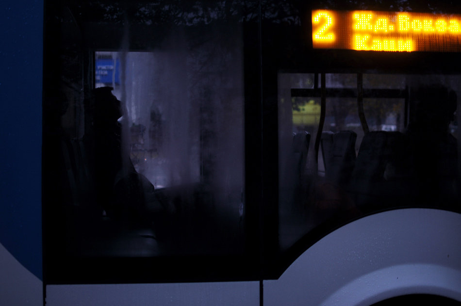 Холодный утренний троллейбус - Ольга Нарышкова