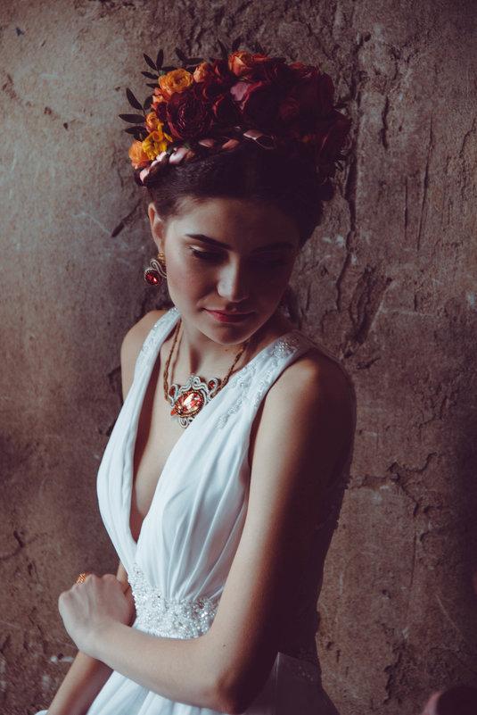 Невеста в образе Фриды - Екатерина Молькова