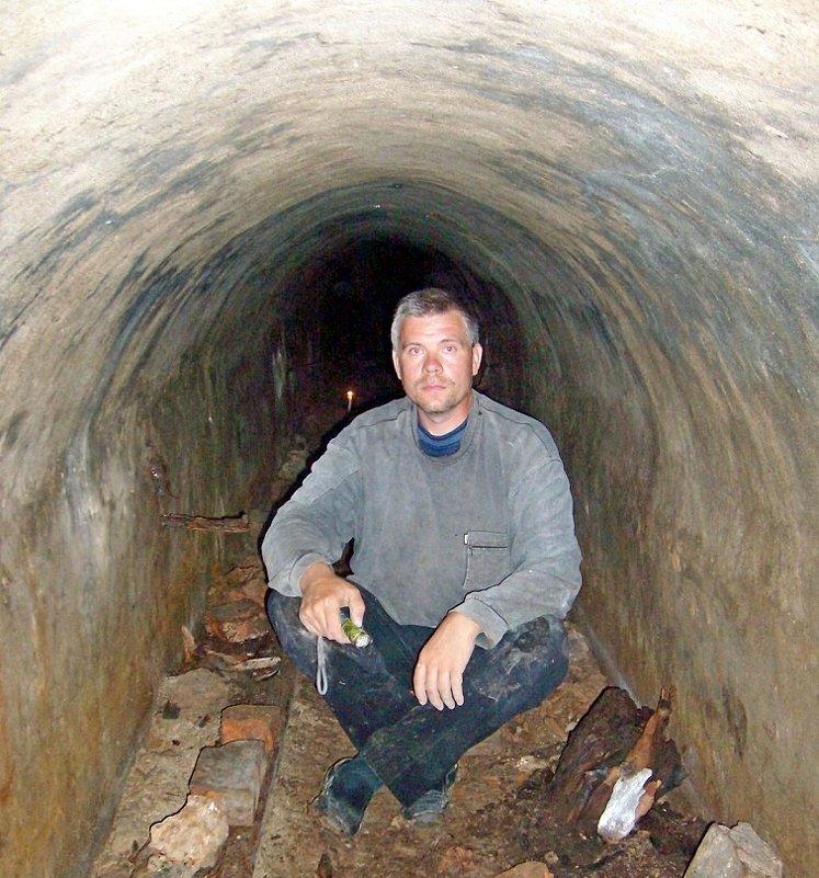 Отдых в подземном Полоцком дренаже - Андрей Буховецкий