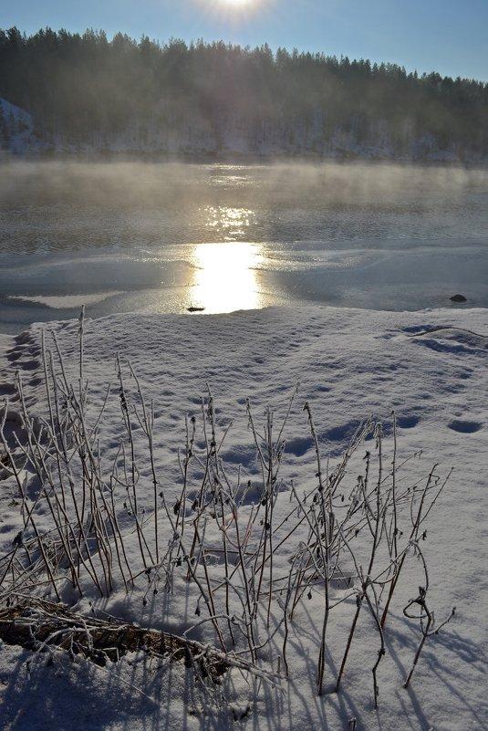 Зимняя река - Ольга
