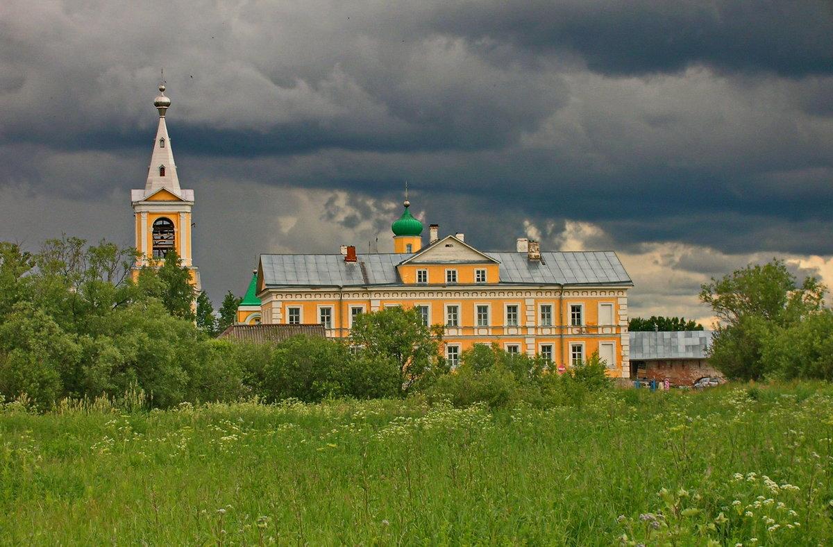 Введено-Оятский монастырь. - Олег Попков