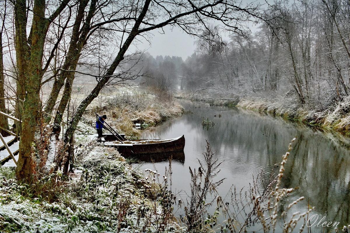 Зимняя река - Olcen - Ольга Лён
