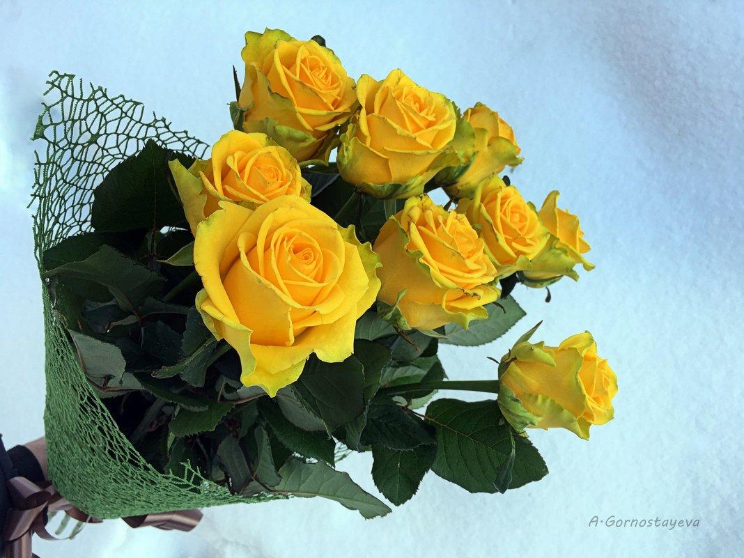 Что означают желтые розы в подарок девушке 49