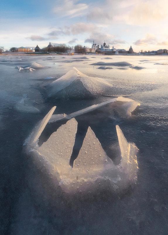 Первый лед на Соловках - Александр Бобрецов