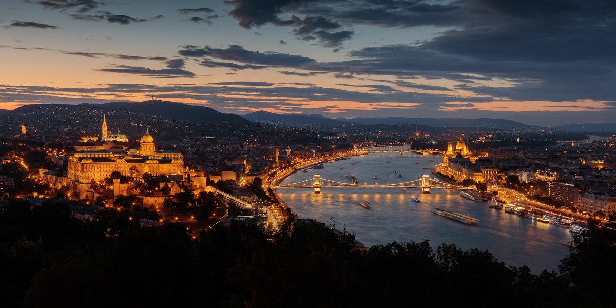 Дмитрий Питенин - Вечерний вид на Дунай - Фотоконкурс Epson
