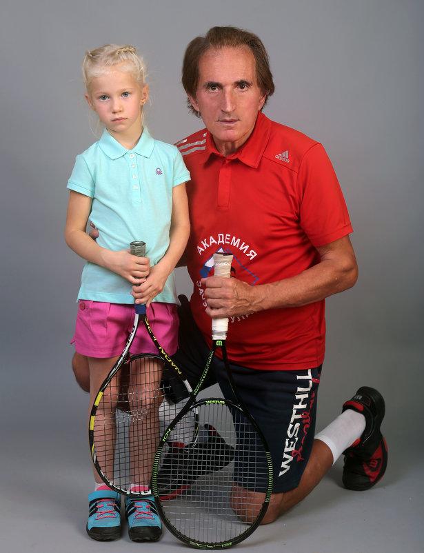 Детский теннис и мода! Заури Абуладзе - Заури Абуладзе