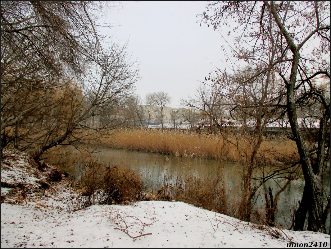 Река Темерник в парке Октября... - Нина Бутко