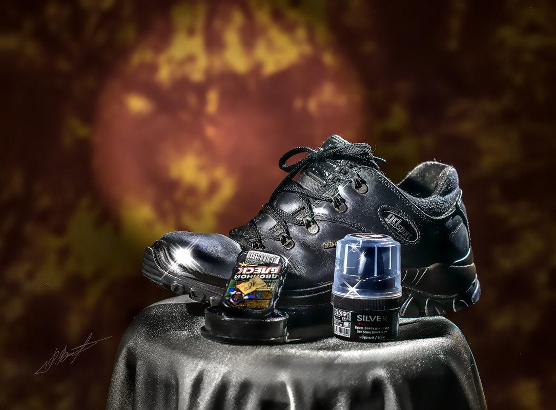 Ода о ботинке прослужившему 8 лет - Ринат Валиев
