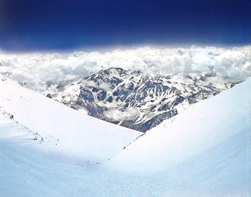спуск с Эльбруса - viton