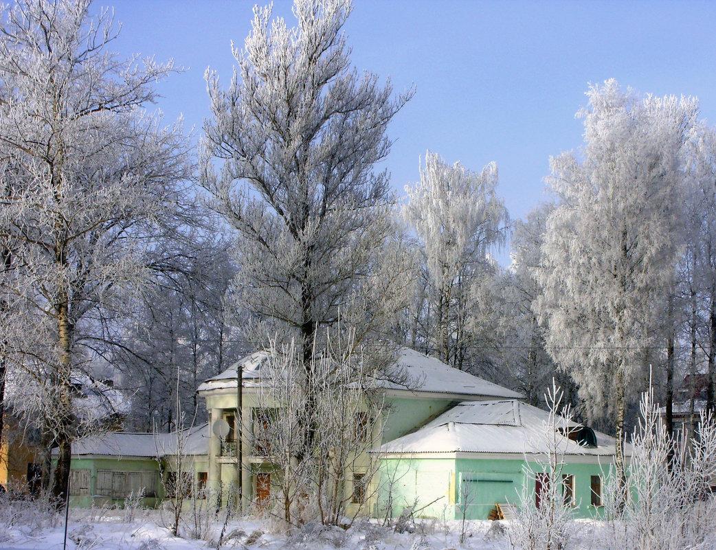 Зимняя сказка г.Сафоново - Андрей .