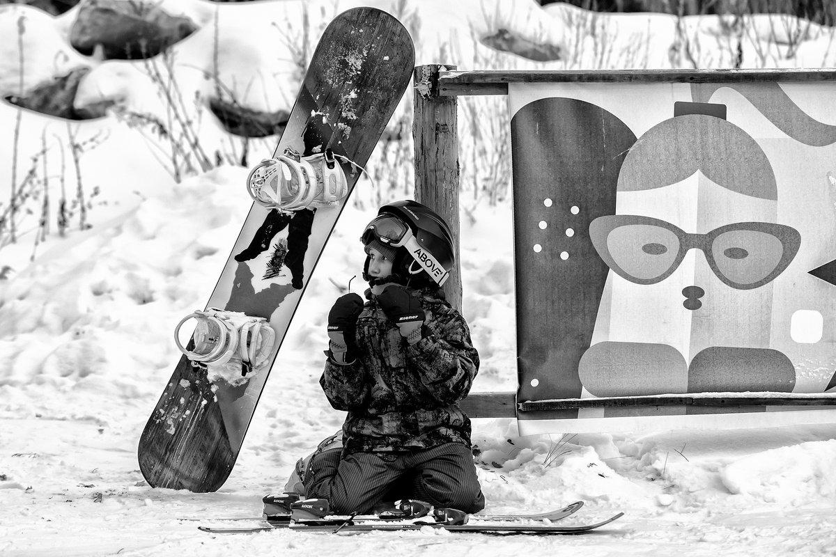 young skier - Dmitry Ozersky