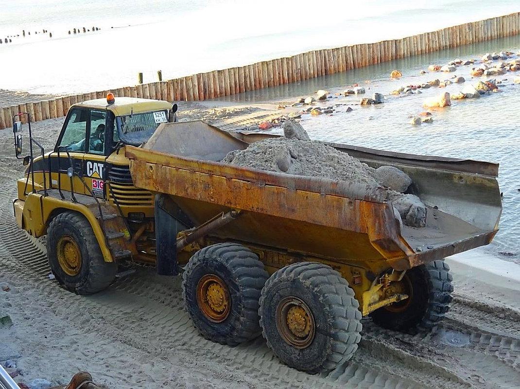 Зеленоградск готовится к новому сезону, идут работы по  укреплению пляжей - Маргарита Батырева
