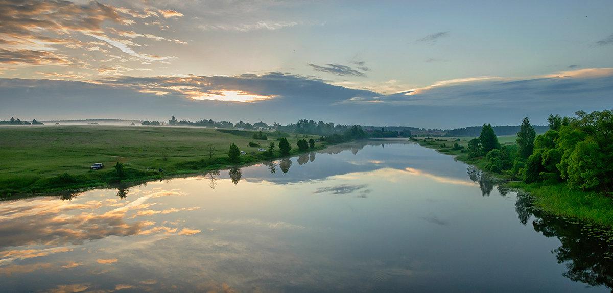 Рассвет на реке Нерль - Galina