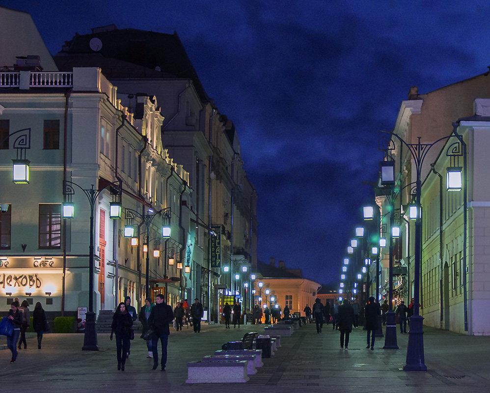Москва ночная - Сергей Никифоров