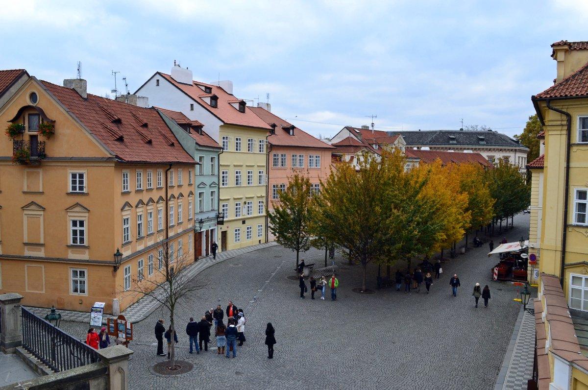 Прогулки по осенней Праге - Ольга