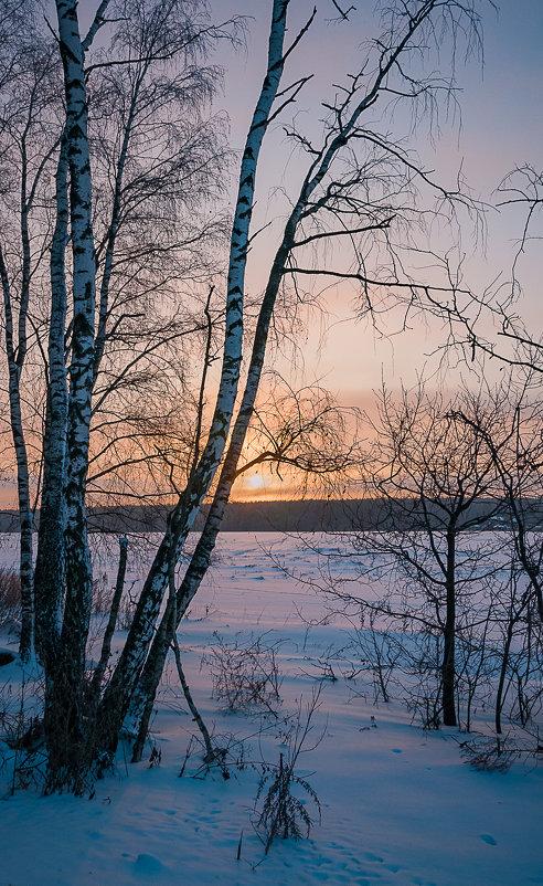 Морозный рассвет в Подмосковье - Алексей Кошелев