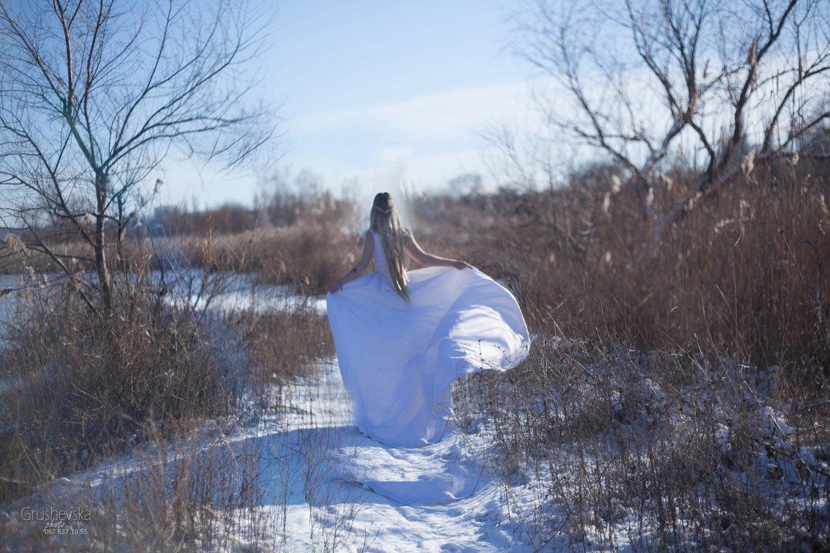 зимний день - Оля Грушевская