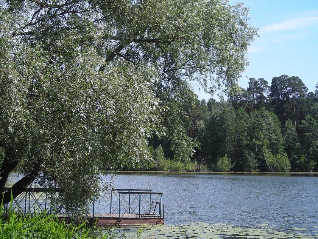 Раифское озеро ранним утром... - марина ковшова