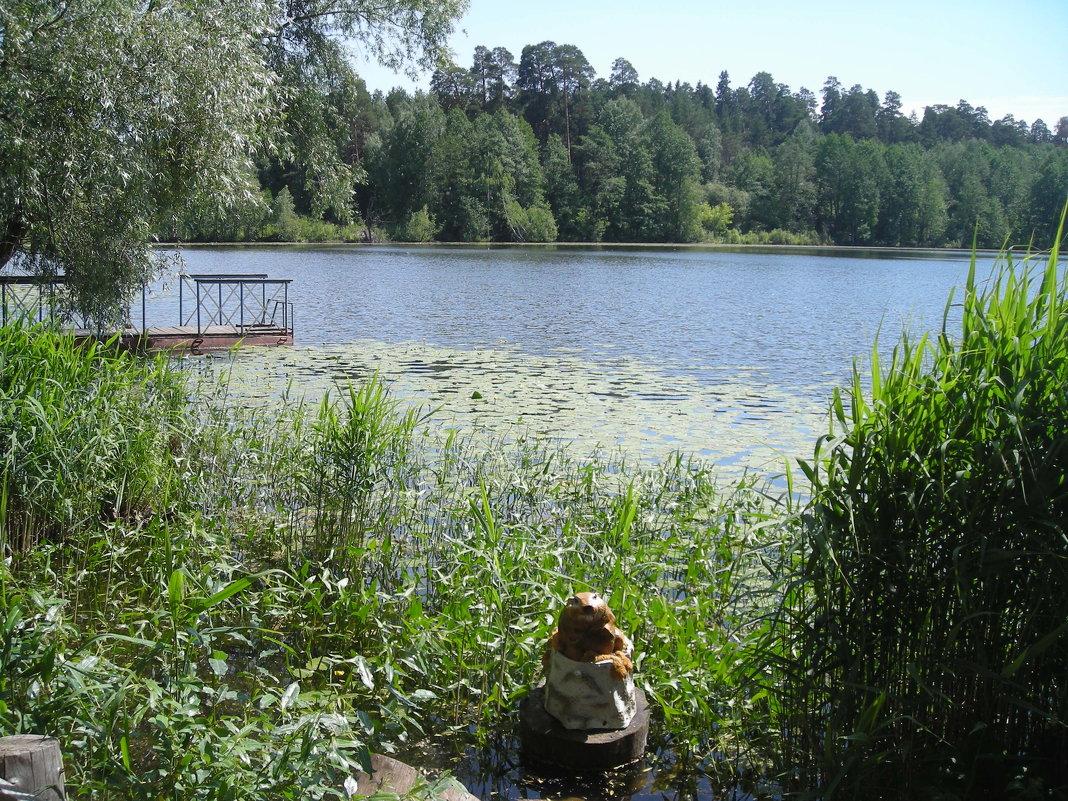 Раифское озеро (около Богородицкого мужского монастыря) - марина ковшова