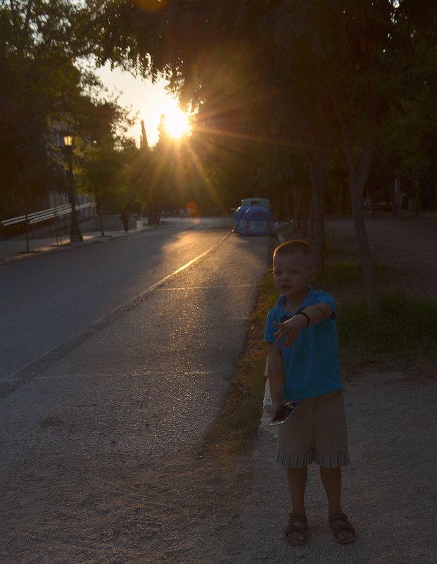 Прогулка в Афинах. - Оля Богданович