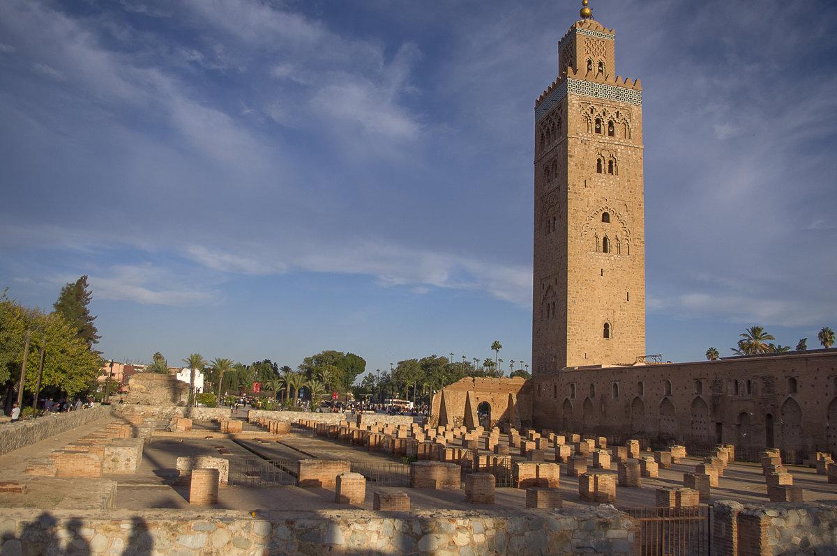 Марракеш. Мечеть Кутюбия - Светлана marokkanka